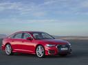 Фото авто Audi A6 C8, ракурс: 315 цвет: красный