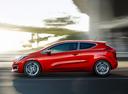 Фото авто Kia Cee'd 2 поколение [рестайлинг], ракурс: 90 цвет: красный