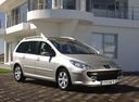Фото авто Peugeot 307 1 поколение [рестайлинг], ракурс: 315 цвет: серебряный