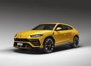 Фото авто Lamborghini Urus 1 поколение, ракурс: 45 цвет: желтый