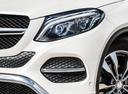 Фото авто Mercedes-Benz GLE-Класс W166/C292, ракурс: передние фары цвет: серебряный