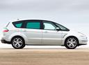 Фото авто Ford S-Max 1 поколение, ракурс: 270 цвет: белый
