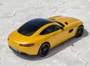 Фото авто Mercedes-Benz AMG GT C190, ракурс: 225 цвет: желтый