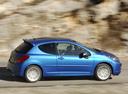 Фото авто Peugeot 207 1 поколение, ракурс: 270 цвет: синий