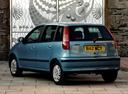 Фото авто Fiat Punto 1 поколение, ракурс: 135 цвет: голубой