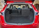 Фото авто Mazda CX-5 2 поколение, ракурс: багажник цвет: красный