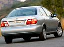 Фото авто Nissan Almera N16 [рестайлинг], ракурс: 225 цвет: серебряный
