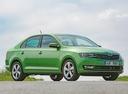 Фото авто Skoda Rapid 3 поколение [рестайлинг], ракурс: 315 цвет: зеленый