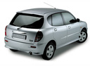 Фото авто Daihatsu Sirion 1 поколение [рестайлинг], ракурс: 225 - рендер цвет: серебряный