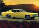 Фото авто Chevrolet Chevelle 2 поколение, ракурс: 270