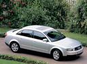 Фото авто Audi A4 B6, ракурс: 315 цвет: серебряный