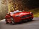 Фото авто Aston Martin Vantage 3 поколение [2-й рестайлинг], ракурс: 315 цвет: красный