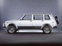 Фото авто ВАЗ (Lada) 4x4 1 поколение [рестайлинг], ракурс: 90 цвет: серебряный