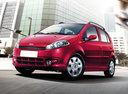 Фото авто Chery Kimo 1 поколение, ракурс: 45 цвет: бордовый