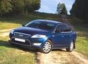 Фото авто Ford Mondeo 4 поколение, ракурс: 45 цвет: синий