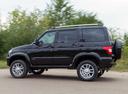 Фото авто УАЗ Patriot 2 поколение, ракурс: 90 цвет: черный