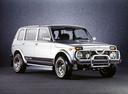 Фото авто ВАЗ (Lada) 4x4 1 поколение [рестайлинг], ракурс: 315 цвет: серебряный