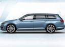 Фото авто Volkswagen Passat B8, ракурс: 90 цвет: синий