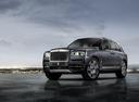 Фото авто Rolls-Royce Cullinan 1 поколение, ракурс: 45 цвет: серый