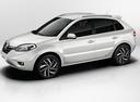 Фото авто Renault Koleos 1 поколение [2-й рестайлинг], ракурс: 45 цвет: белый