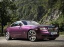 Фото авто Rolls-Royce Wraith 2 поколение, ракурс: 315 цвет: бордовый