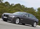 Фото авто BMW 7 серия F01/F02 [рестайлинг], ракурс: 45 цвет: коричневый