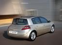 Фото авто Renault Megane 2 поколение [рестайлинг], ракурс: 225 цвет: бежевый