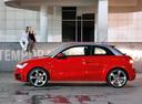 Фото авто Audi A1 8X, ракурс: 90 цвет: красный