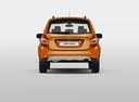Фото авто ВАЗ (Lada) Kalina 2 поколение, ракурс: 180 цвет: оранжевый