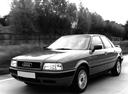 Фото авто Audi 80 8C/B4, ракурс: 45 цвет: черный