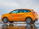 Фото авто ВАЗ (Lada) XRAY 1 поколение, ракурс: 90 цвет: желтый