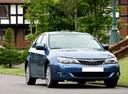 Фото авто Subaru Impreza 3 поколение, ракурс: 315 цвет: синий