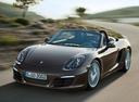 Фото авто Porsche Boxster 981, ракурс: 45 цвет: коричневый