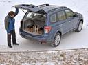 Фото авто Subaru Forester 3 поколение [рестайлинг], ракурс: 225 цвет: синий