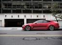 Фото авто Kia Stinger 1 поколение, ракурс: 90 цвет: красный