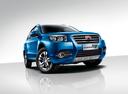 Фото авто Geely Emgrand X7 1 поколение [рестайлинг], ракурс: 315 цвет: синий