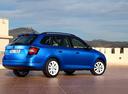 Фото авто Skoda Fabia NJ, ракурс: 225 цвет: синий