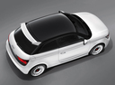 Фото авто Audi A1 8X, ракурс: сверху