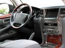 Фото авто Lexus LX 3 поколение, ракурс: рулевое колесо