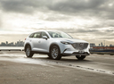 Фото авто Mazda CX-9 2 поколение, ракурс: 315 цвет: белый