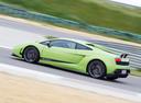 Фото авто Lamborghini Gallardo 1 поколение, ракурс: 90 цвет: зеленый
