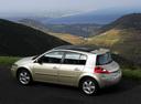 Фото авто Renault Megane 2 поколение [рестайлинг], ракурс: 135 цвет: бежевый