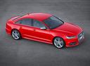 Фото авто Audi S6 C7 [рестайлинг], ракурс: сверху цвет: красный