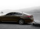 Фото авто Genesis G80 1 поколение, ракурс: 90 цвет: коричневый