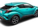 Фото авто Toyota C-HR 1 поколение, ракурс: 225 цвет: аквамарин