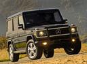 Фото авто Mercedes-Benz G-Класс W463 [рестайлинг], ракурс: 315 цвет: черный
