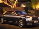 Фото авто Bentley Mulsanne 2 поколение [рестайлинг], ракурс: 315 цвет: серый