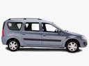 Фото авто ВАЗ (Lada) Largus 1 поколение, ракурс: 270 - рендер цвет: синий