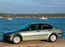 Фото авто BMW 3 серия E46 [рестайлинг], ракурс: 90 цвет: серый