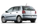 Фото авто Volkswagen Polo 4 поколение [рестайлинг], ракурс: 135 цвет: серебряный